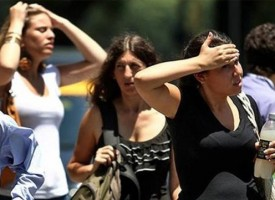 Altas temperaturas en la mayor parte del país