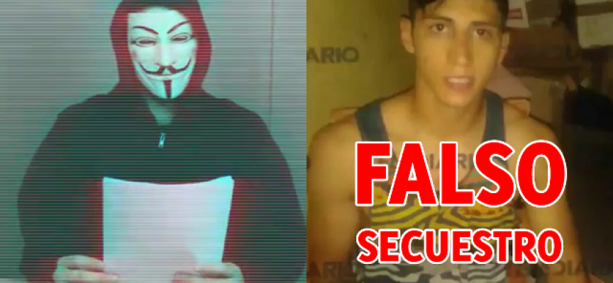 Anonymous desmiente secuestro de Alan Pulido
