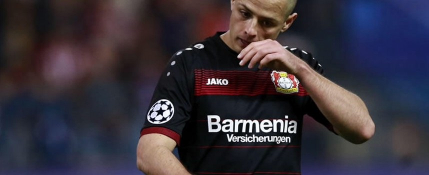 Chicharito no estará disponible ante Bayern Múnich