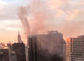 Incendio en la Torre Trump sorprende en Nueva York