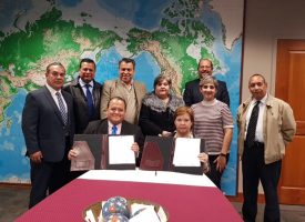Firman convenio Conalep Tamaulipas con Texas A&M International University