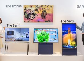 Samsung presente Smart Tv vertical
