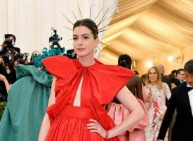 Anne Hathaway presume 'embarazo secreto'