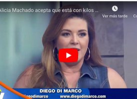 Llaman «gordita» a Alicia Machado en Hoy (VIDEO)