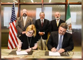 Firman acuerdo la FMVZ-UAT y Agrilife Research-Texas A&M
