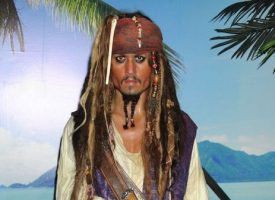 Era como Jack Sparrow: Guardaespaldas de Deep